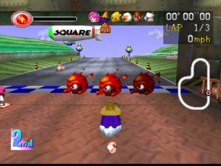 Screenshot Thumbnail / Media File 1 for Chocobo Racing [U]